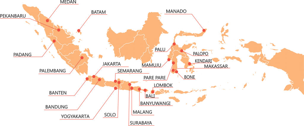 BVR Advertising Map Indonesia