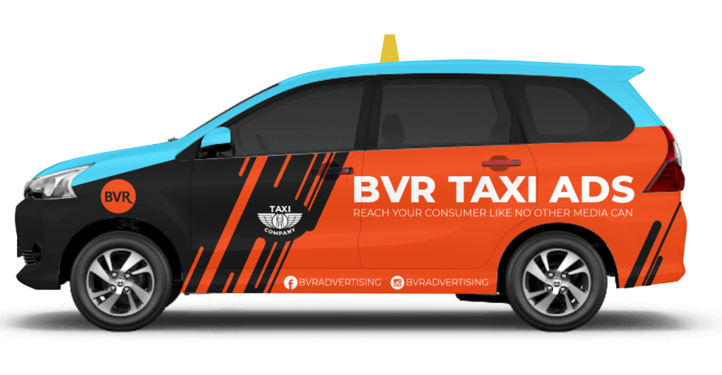 Taxi Ads Side Rear